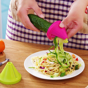Vegetable Cutter Spiral Slicer