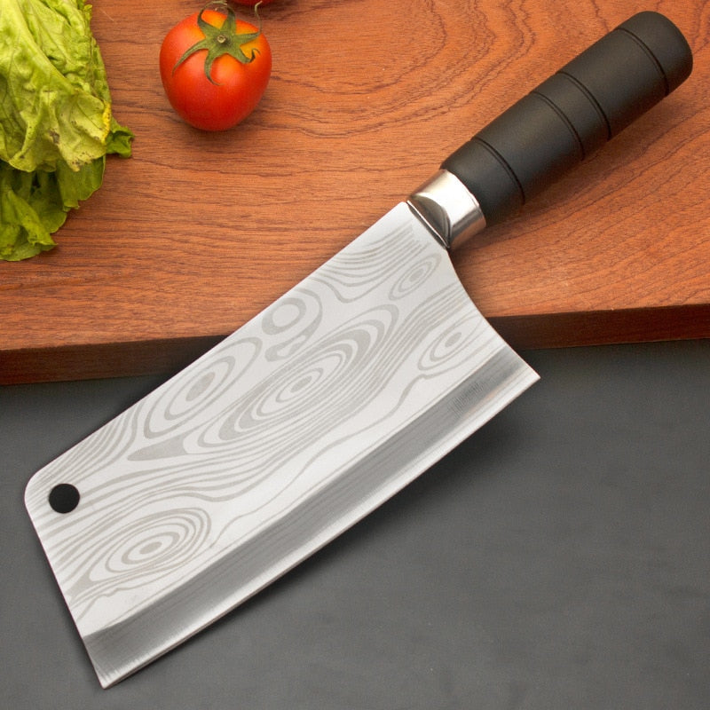 Stainless Steel Kitchen Chopping Knife