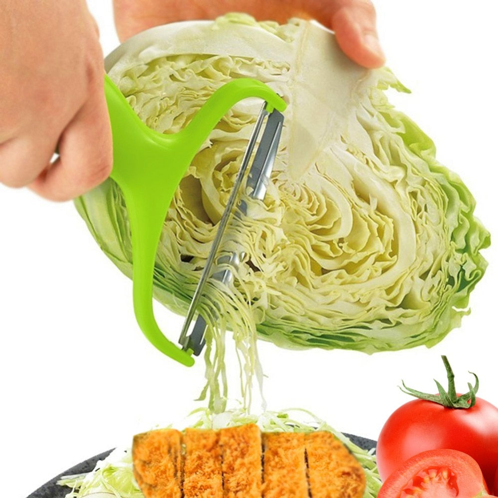 Multifunctional Stainless Steel Cabbage Peeler