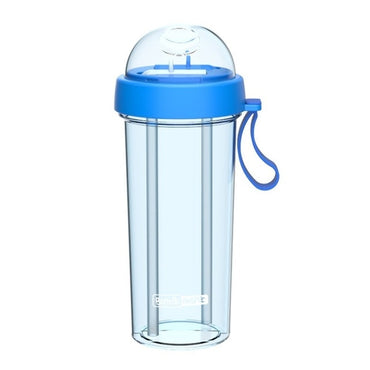 Double-Tube Water Bottle