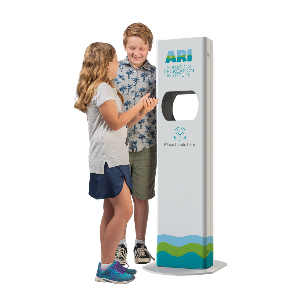 Sanitation Station – Hand Sanitiser Dispenser Stand