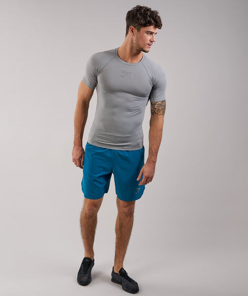 Gymshark Two In One Shorts - Deep Teal