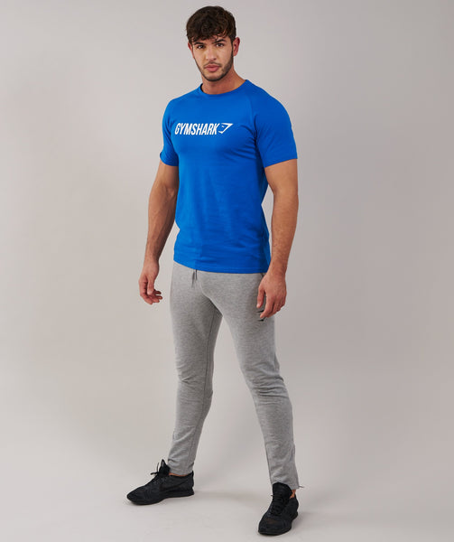 Gymshark Apollo T-Shirt - Dive Blue/White 3