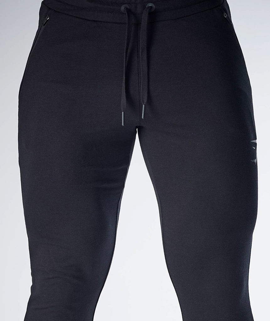 Gymshark Fit Tapered Bottoms - Black 6
