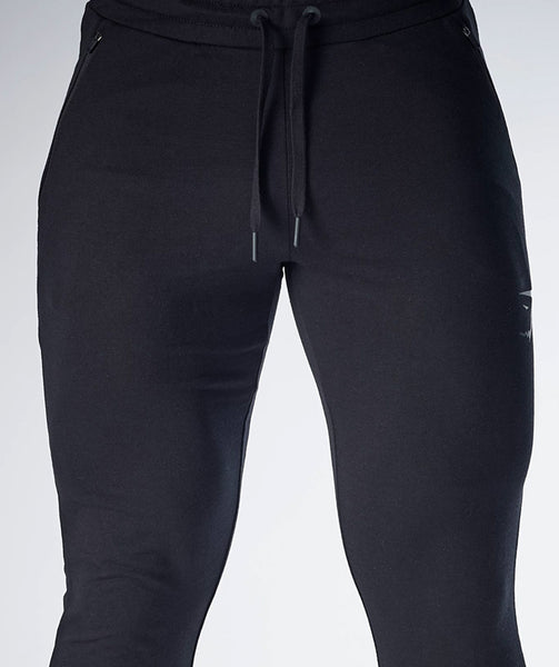 Gymshark Fit Tapered Bottoms - Black 4