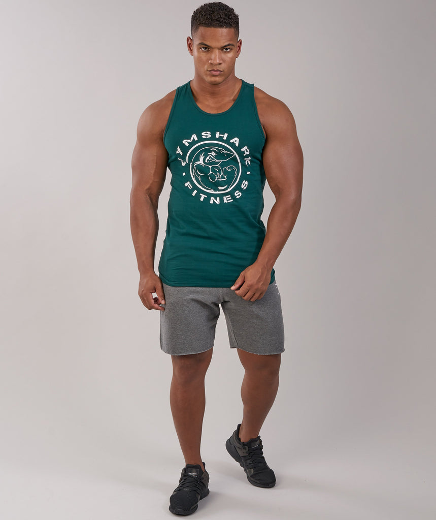 Gymshark Fitness Tank - Forest Green 2