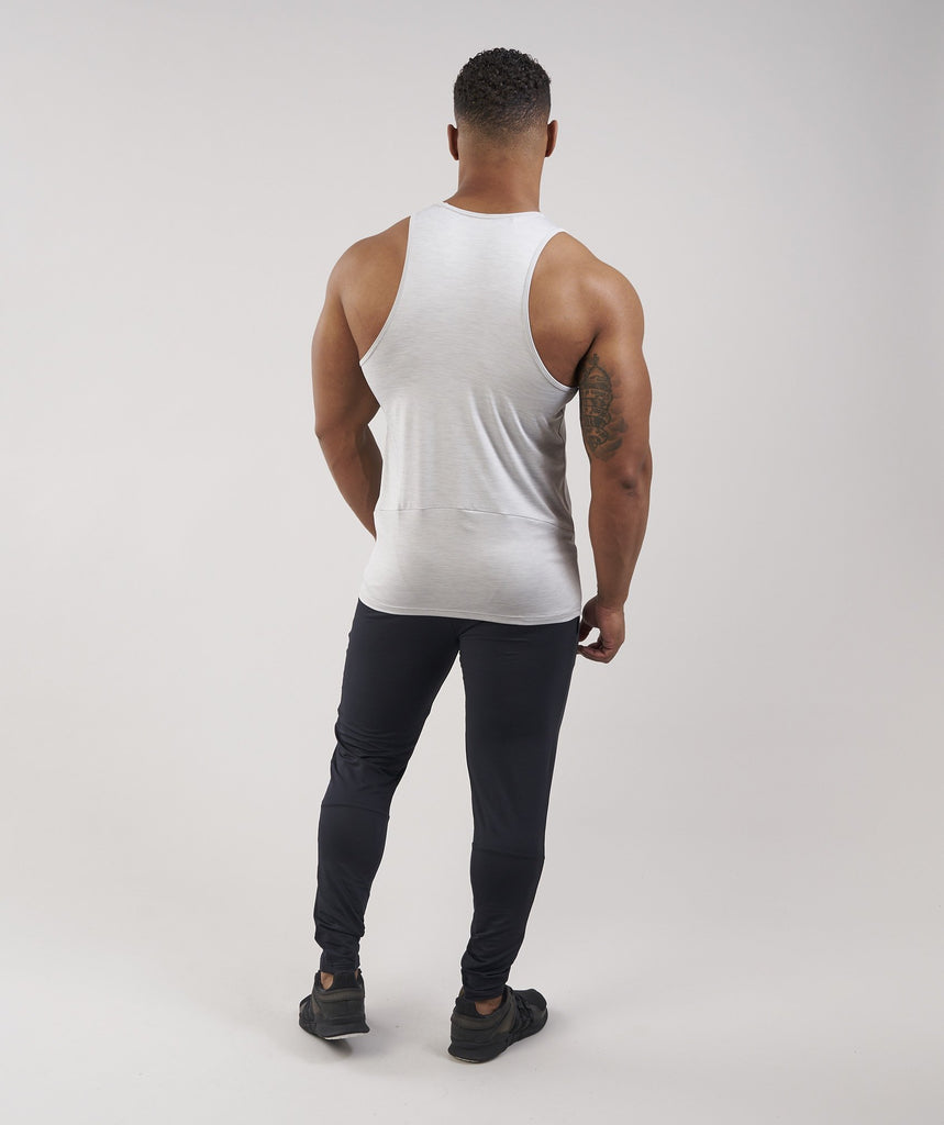Gymshark Apex Tank - Light Grey Marl 2