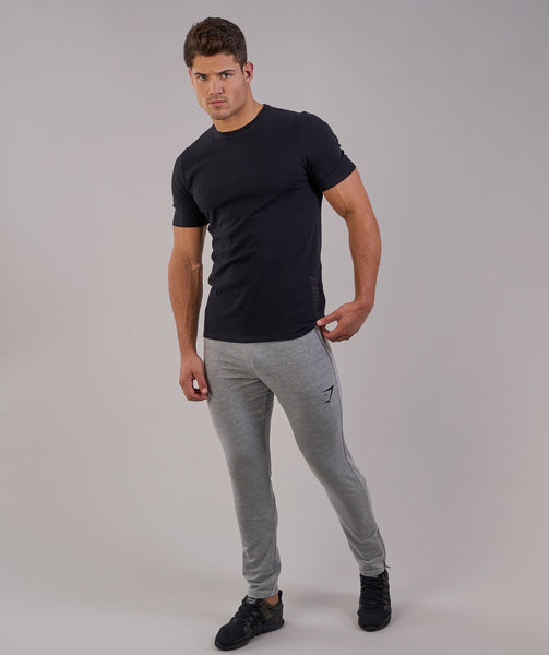 Gymshark Brushed Cotton T-Shirt - Black 3