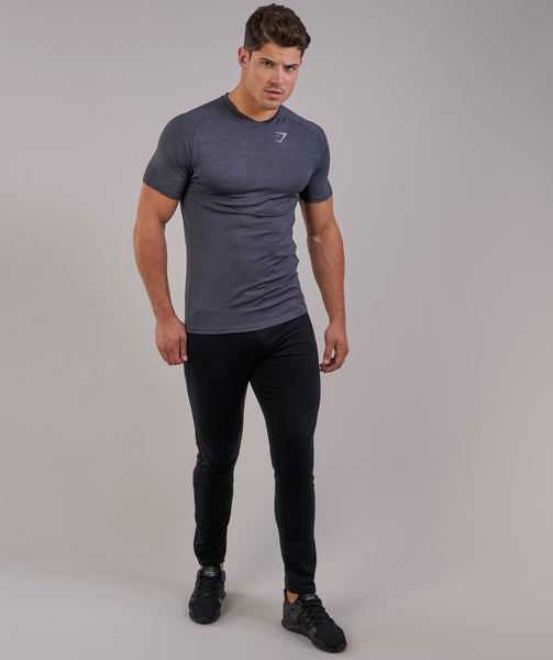 Gymshark Fit Tapered Bottoms - Black 3