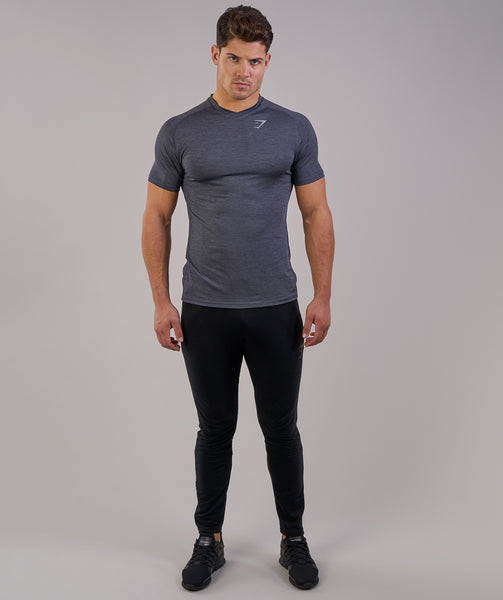 Gymshark Fit Tapered Bottoms - Black 2