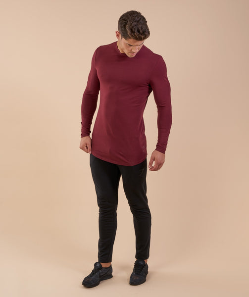 Gymshark Solace Longline Long Sleeve T-shirt - Port 3