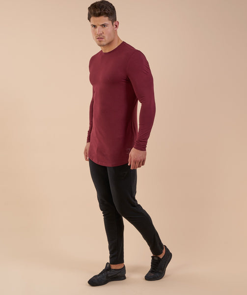 Gymshark Solace Longline Long Sleeve T-shirt - Port 4