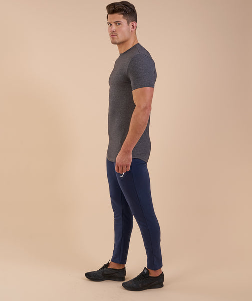 Gymshark Solace Longline T-Shirt - Charcoal Marl 3