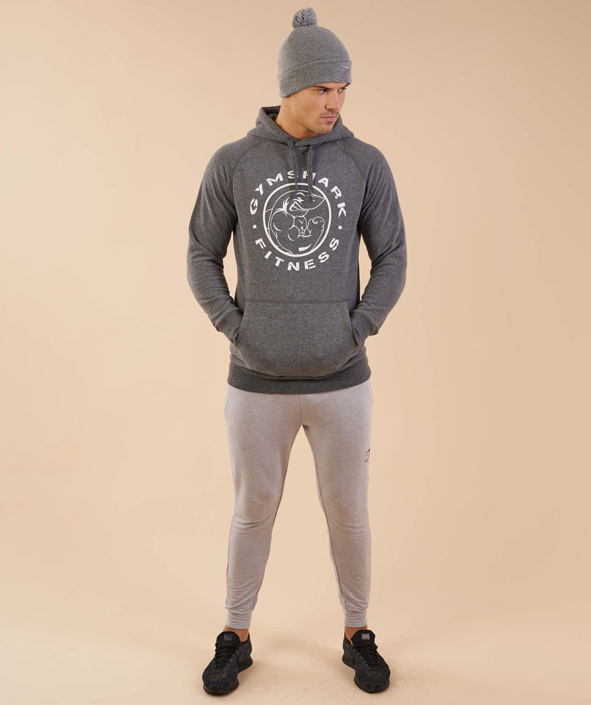 Gymshark Mens Bobble Hat - Light Grey 1