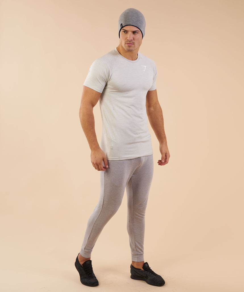 Gymshark Reversible Beanie - Sapphire Blue/Light Grey 1
