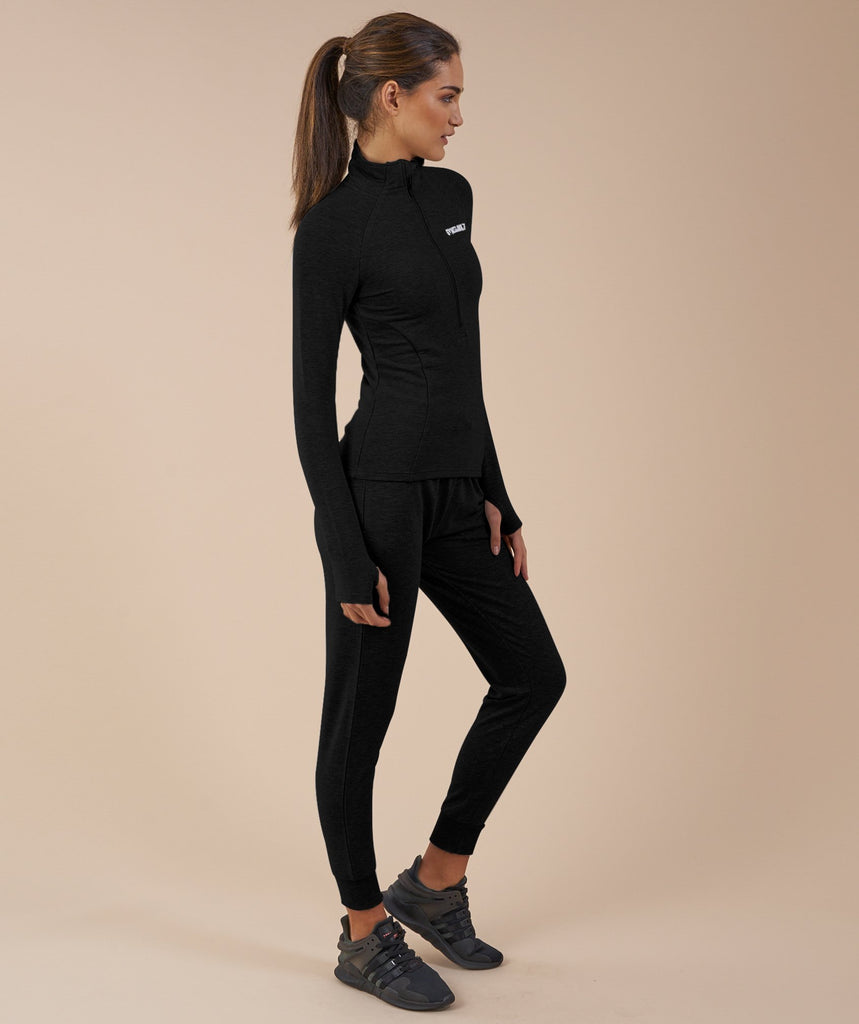 Gymshark Fit Pullover - Black 2
