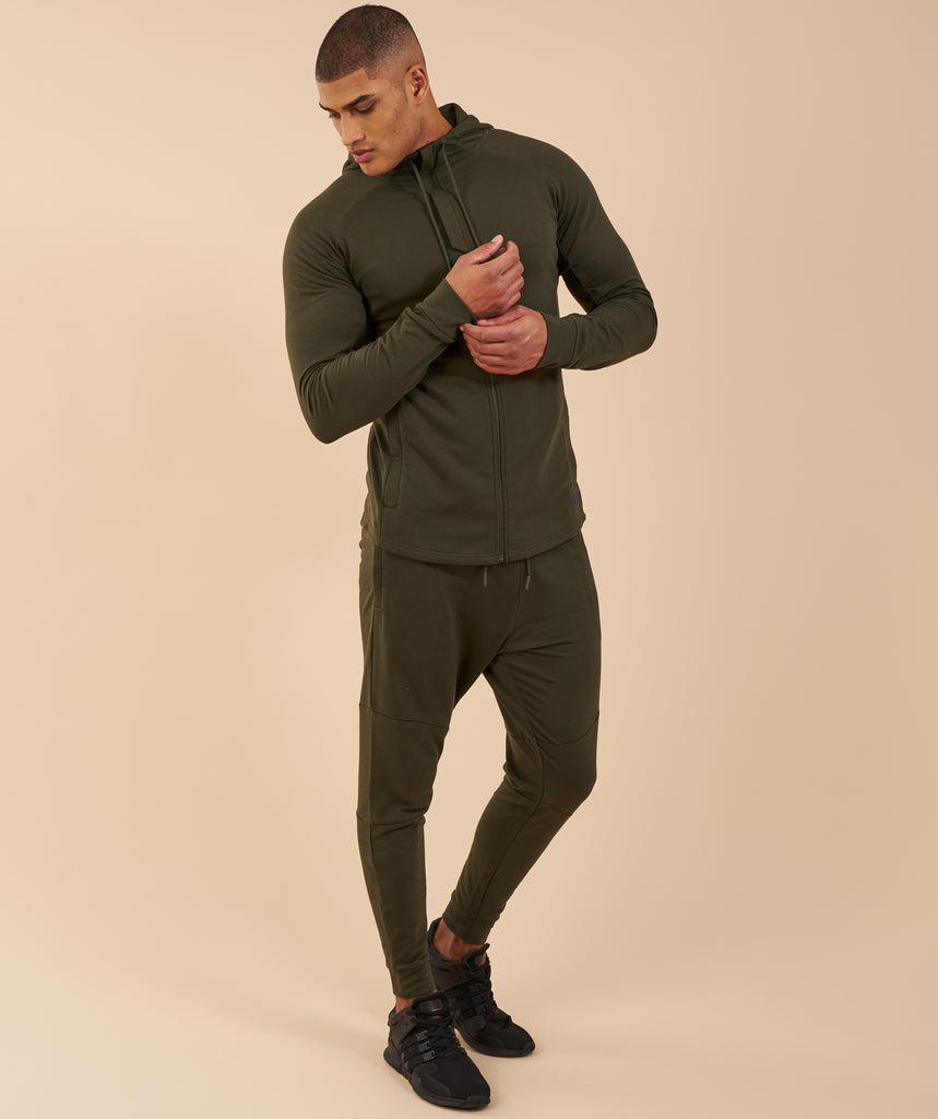 Gymshark Eaze Bottoms - Alpine Green 1