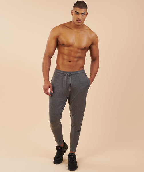 Gymshark Eaze Bottoms - Charcoal Marl 2