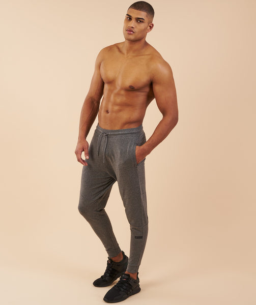 Gymshark Eaze Bottoms - Charcoal Marl 3