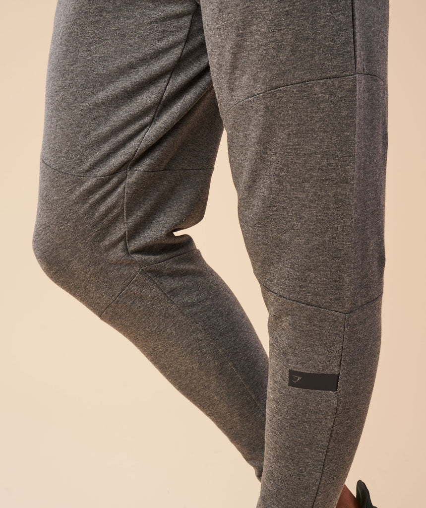 Gymshark Eaze Bottoms - Charcoal Marl 6