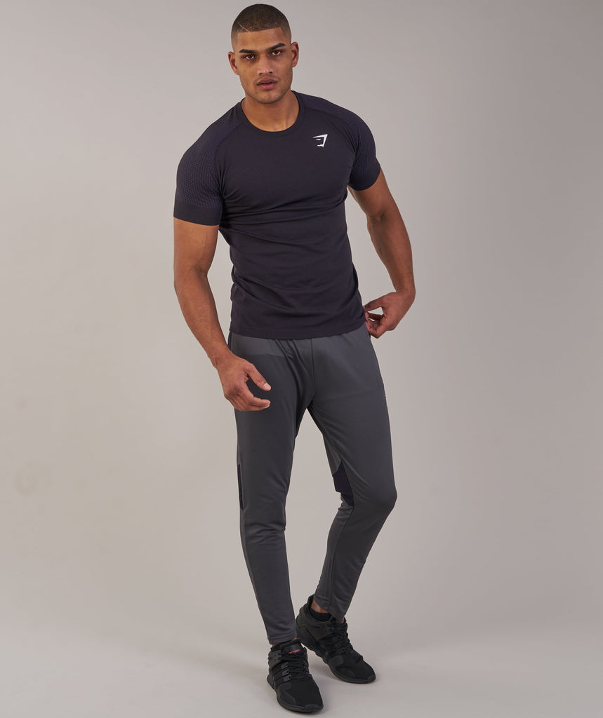 Gymshark Ghost T-Shirt - Nightshade Purple Marl 1