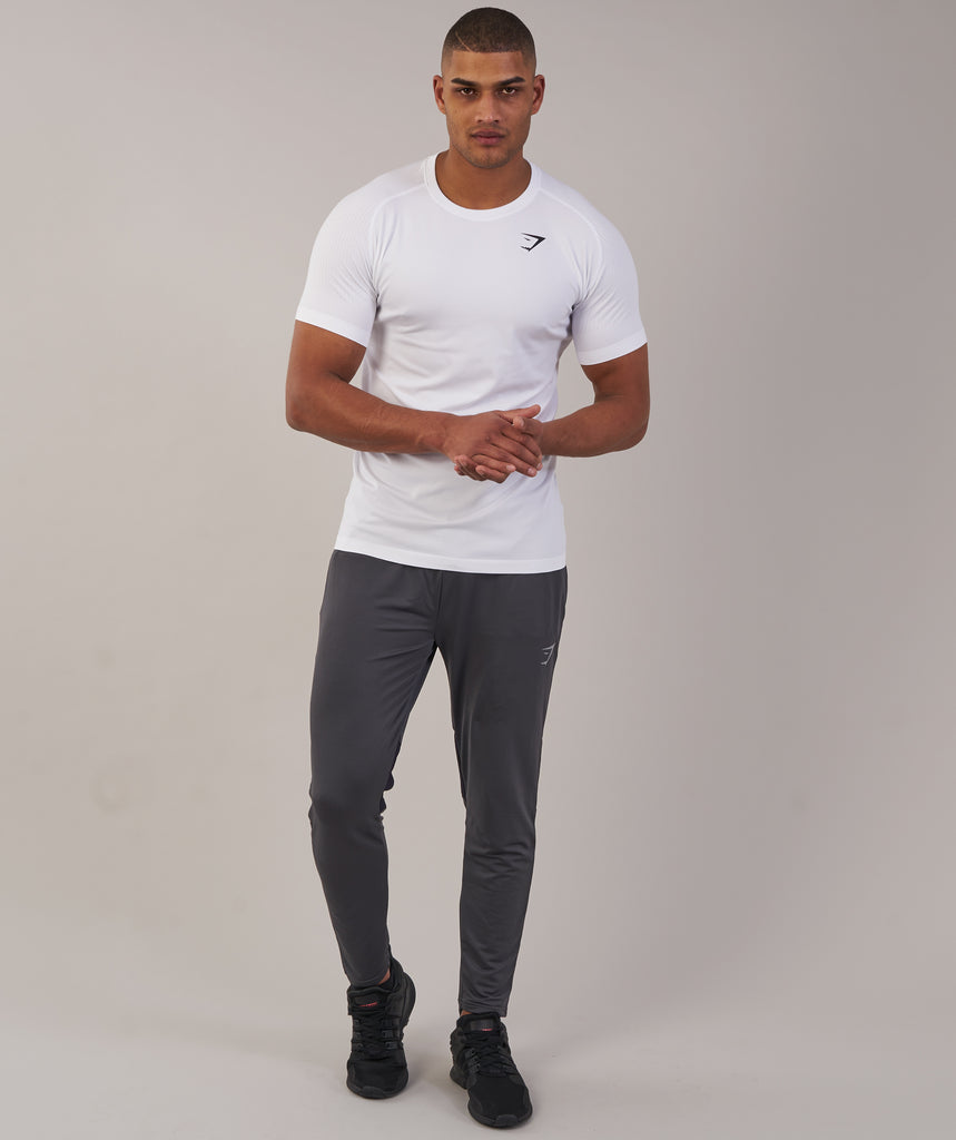 Gymshark Ghost T-Shirt - White Marl 1