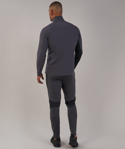 Gymshark Gravity Track Top - Charcoal/Black 3