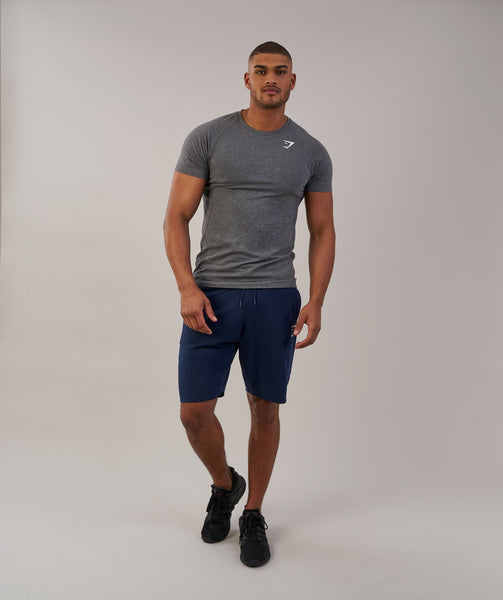 Gymshark Form T-Shirt - Charcoal Marl 3