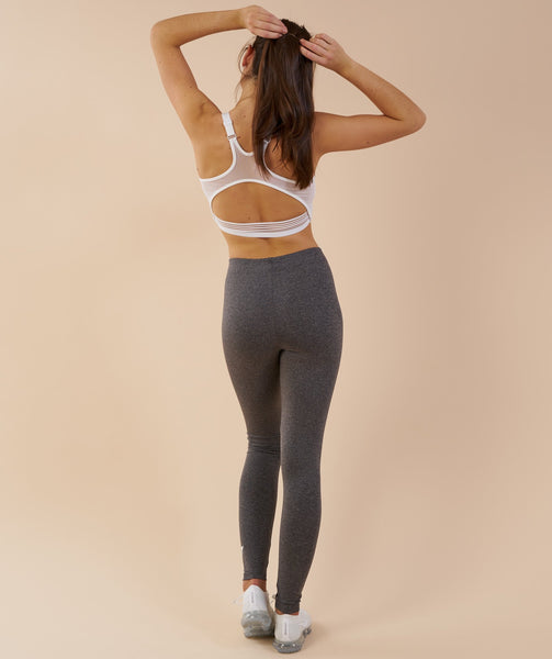 Gymshark Ark Jersey Leggings - Charcoal Marl 2