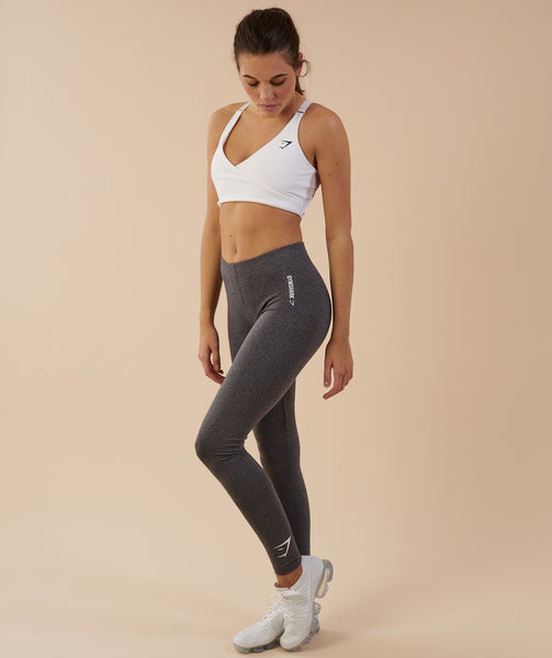 Gymshark Ark Jersey Leggings - Charcoal Marl 3