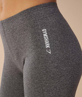 Gymshark Ark Jersey Leggings - Charcoal Marl 8