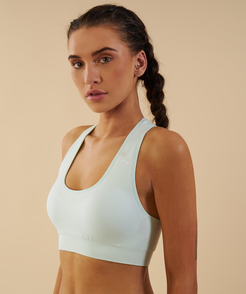 Gymshark Vital Seamless Sports Bra - Sea Foam Green 2
