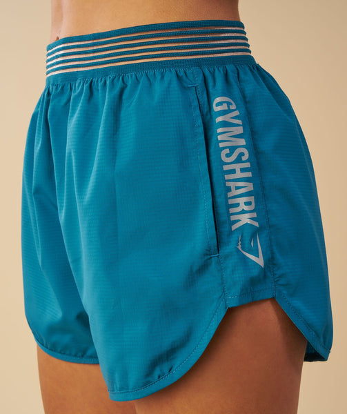 Gymshark Running Shorts - Deep Teal 1