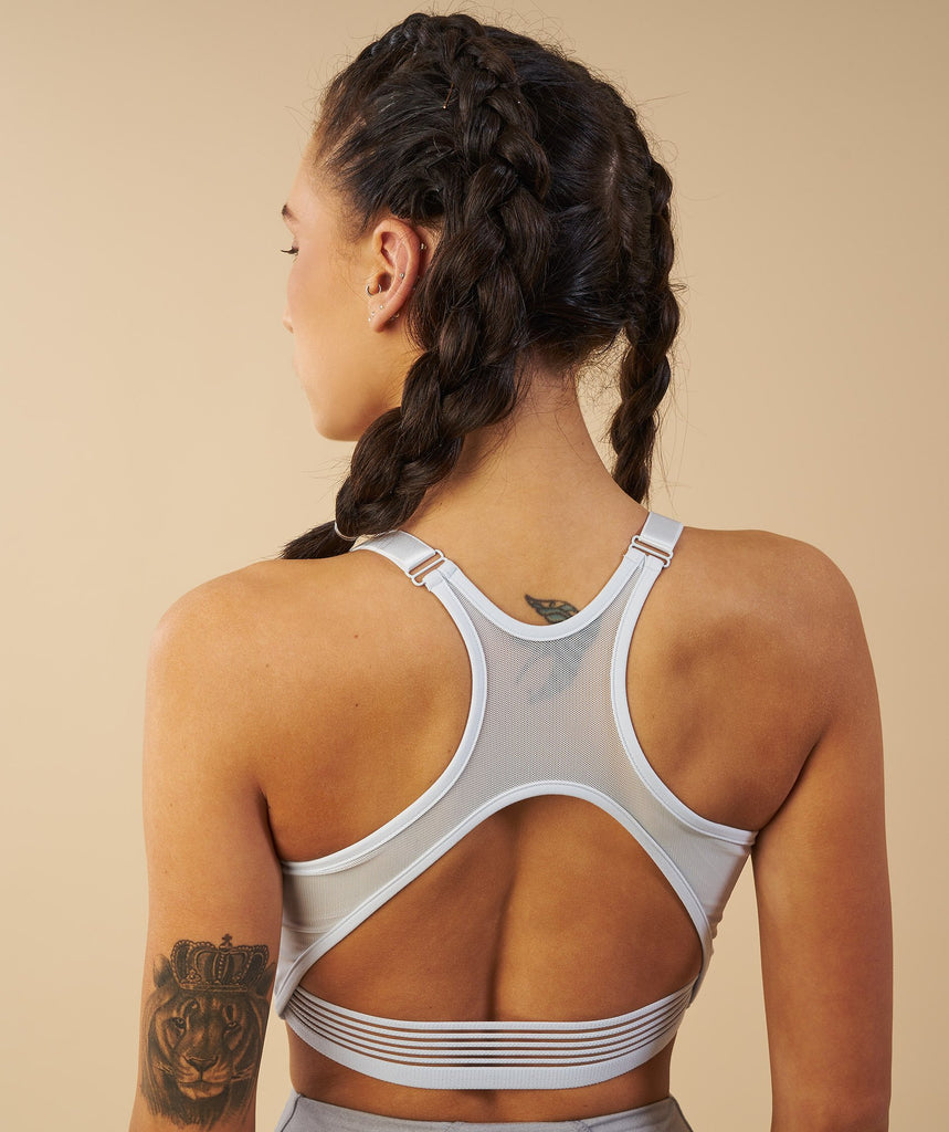 Gymshark Elite Sports Bra - Ice Blue 2