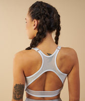 Gymshark Elite Sports Bra - Ice Blue 8