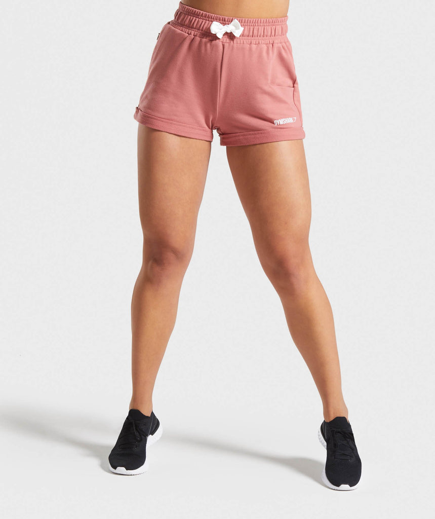 Gymshark Ark High Waisted Shorts - Pink 1