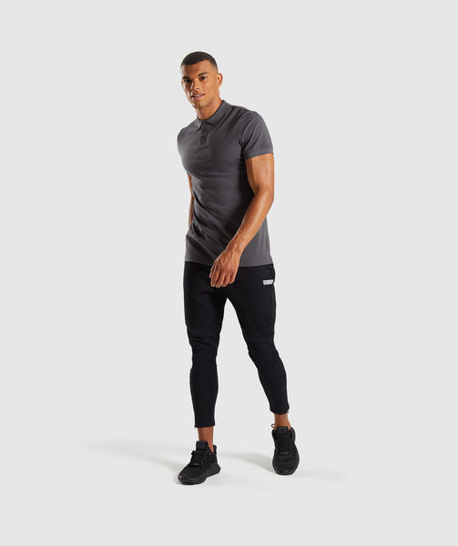 Gymshark Ace Polo - Charcoal 3