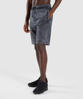 Gymshark Acid Wash Shorts - Black 7