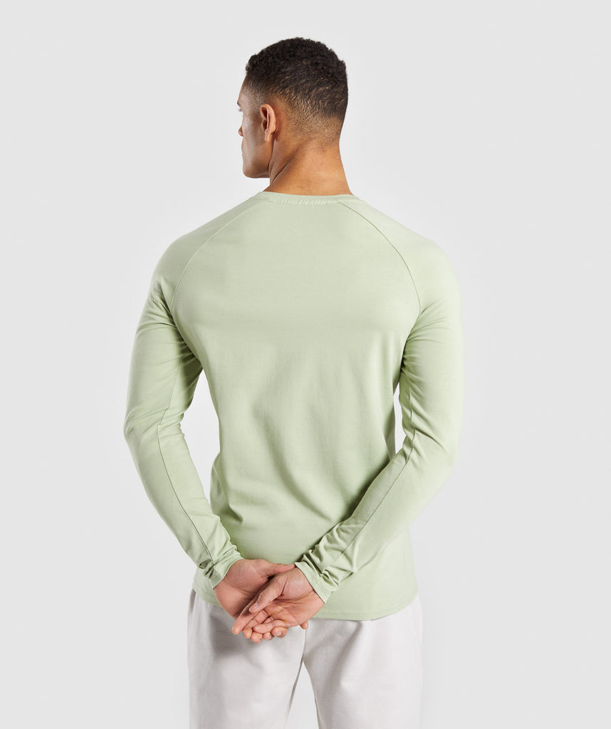 Gymshark Apollo Long Sleeve T-Shirt - Green 2