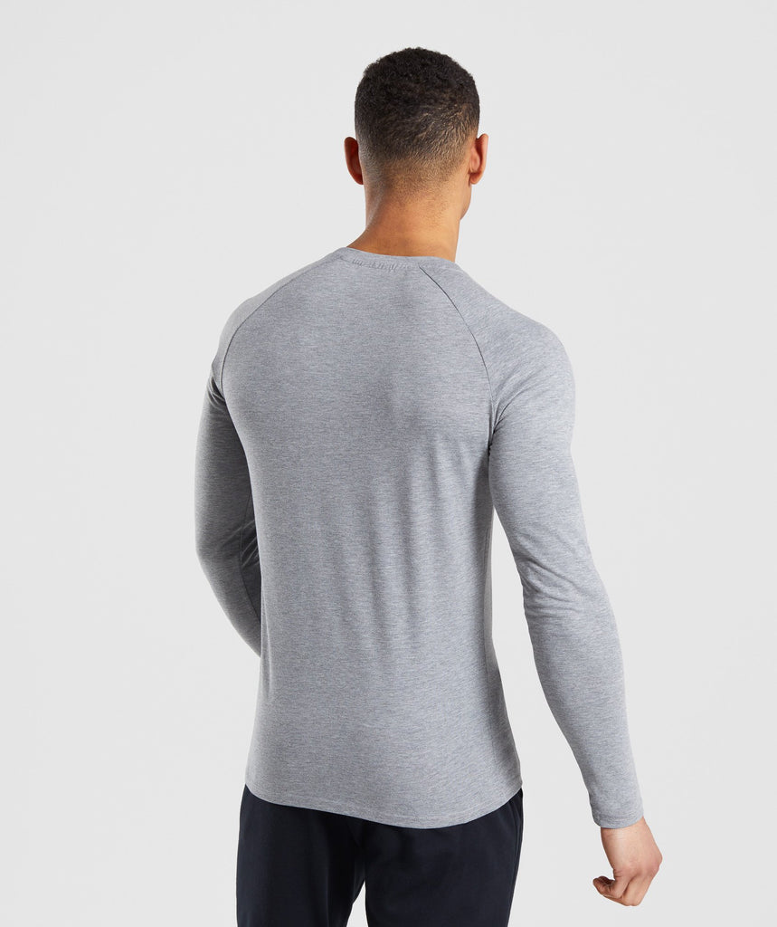 Gymshark Apollo Long Sleeve T-Shirt - Grey 2