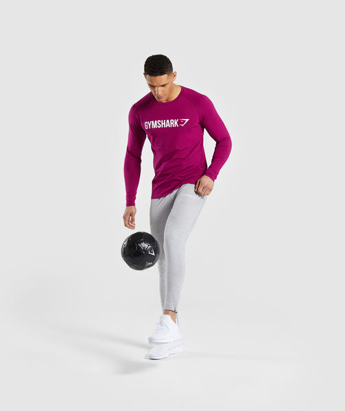 3fa77d1f0a8 ... Gymshark Apollo Long Sleeve T-Shirt - Purple 3