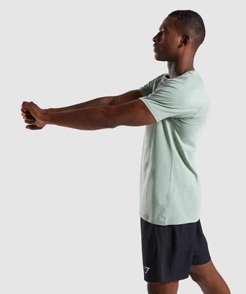 Gymshark Apollo T-Shirt - Pale Green 2