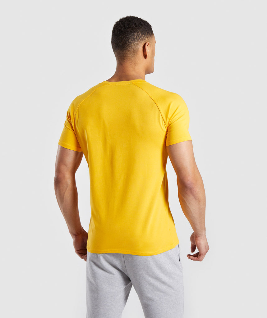 Gymshark Apollo T-Shirt - Yellow 2