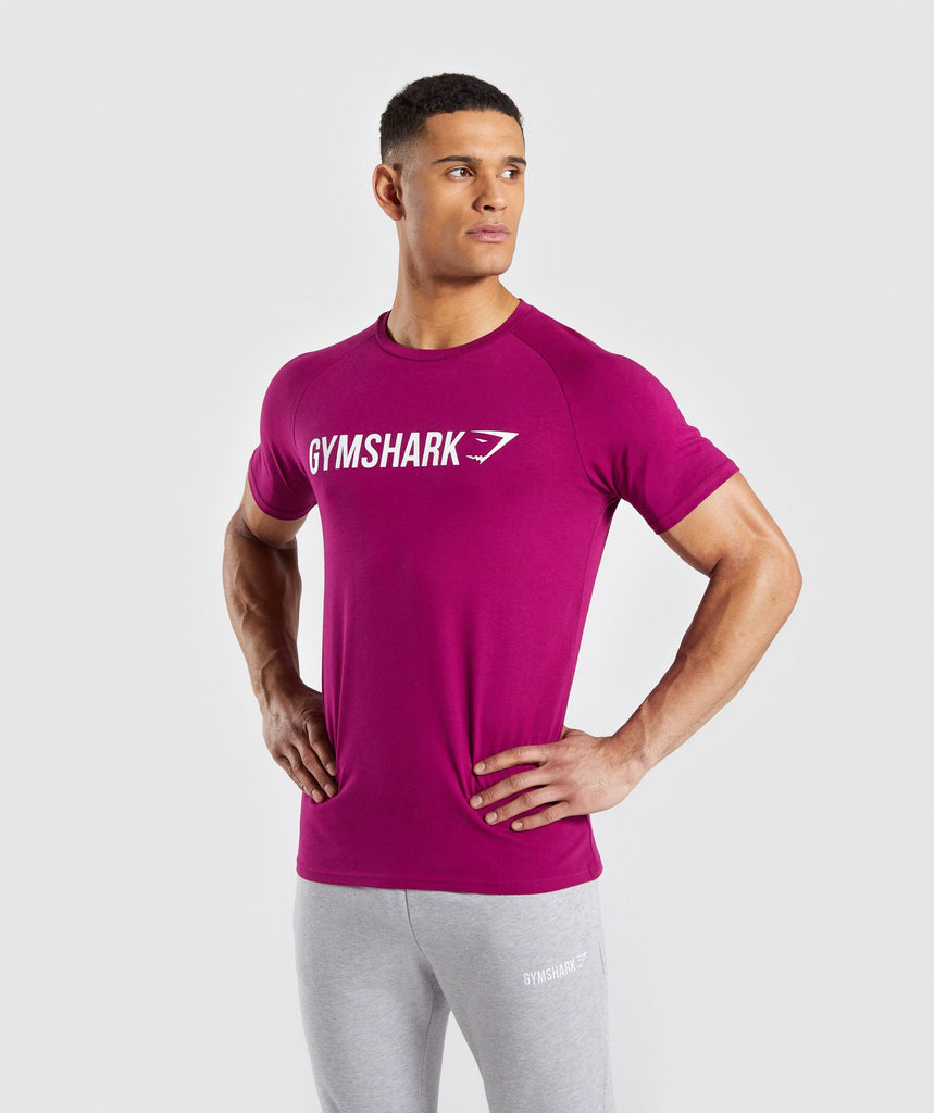 Gymshark Apollo T-Shirt - Purple 1