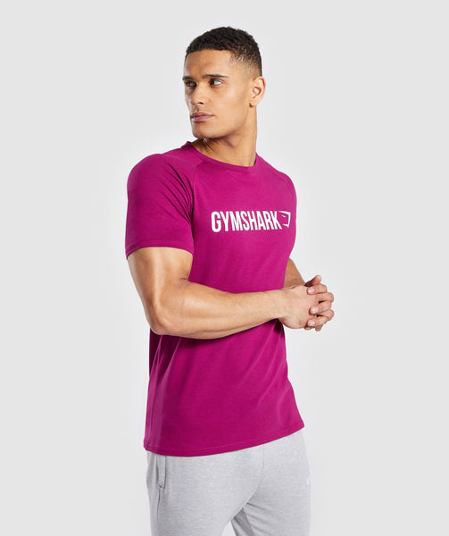bf414442bc2 ... Purple 1  Gymshark Apollo T-Shirt - Purple 2 ...