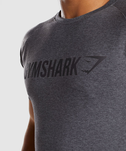 Gymshark Apollo T-Shirt - Charcoal Marl 4