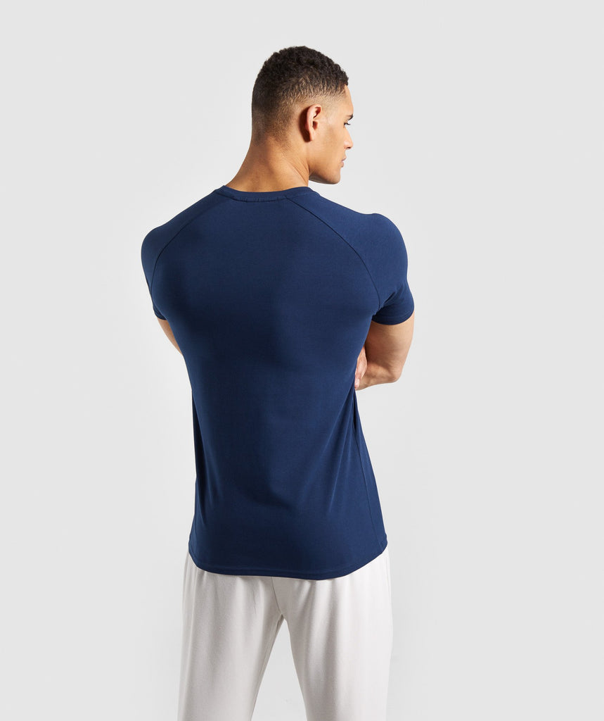 Gymshark Apollo T-Shirt - Blue 2