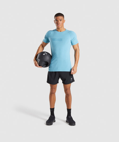 Gymshark Apollo T-Shirt - Dusky Teal 3
