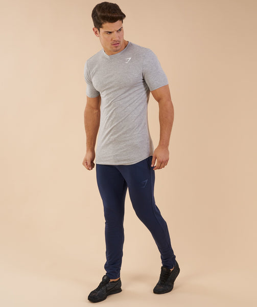 Gymshark Ark T-Shirt - Light Grey Marl 2