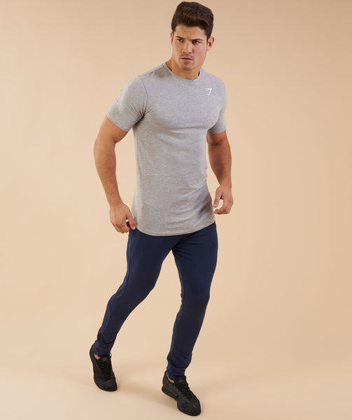 Gymshark Ark T-Shirt - Light Grey Marl 3